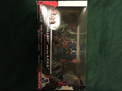 WZK 7204 Horror Clix Hellboy Action Pack MIB-OOP
