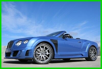 2014 Bentley Continental GT Le Mansory 2014 Le Mansory  Used Turbo 6L W12 48V Automatic AWD