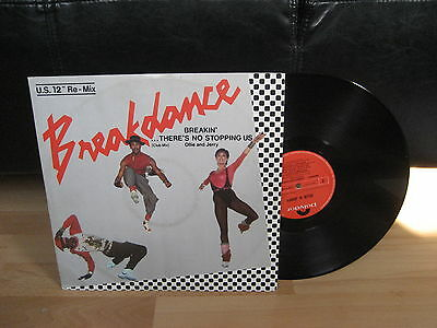 """Breakin' There's No Stopping Us.Breakdance  U.S.12"""" Re~Mix 1984 Ollie & Jerry"""