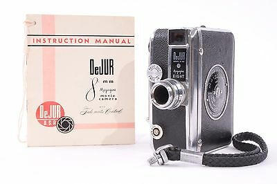 Dejur Magazine 8 Model D-100 8mm Movie Camera