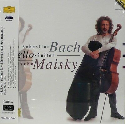 Mischa Maisky -  Analogphonic - Lp43008 - Bach - The Cello Suites  - 3Lp Box