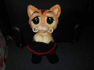 """Puss In Boots Battery Operated Soft Toy Shrek The Third Dreamworks 14"""" Free Post"""