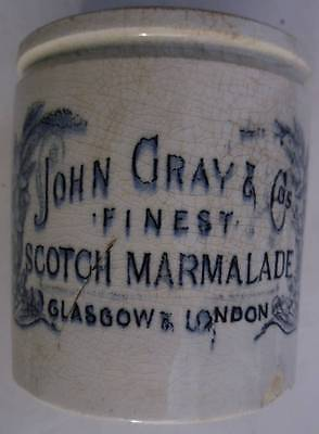 Early John Gray Scotch Marmalade Glasgow & London