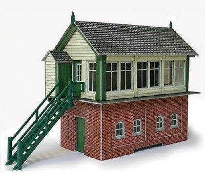 Metcalfe PO233 Signal Box (00 Gauge) Railway Model Kit
