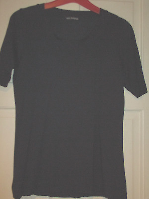 Autograph (Marks & Spencer) Ladies Navy T-Shirt Size 10
