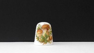 Toadstools    ( Bone China )  Thimble