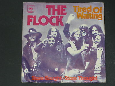 7-Single-Rock-THE FLOCK-Tired of waiting