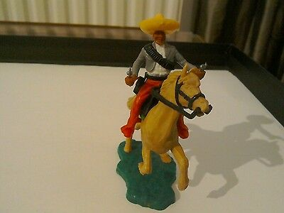 Vintage Timpo Mounted Mexican Cowboy