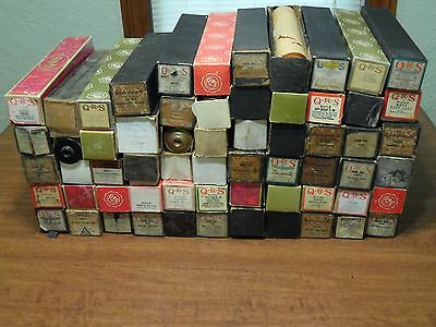 Vintage QRS Player Piano Rolls Lot of 62 Rolls Different Music See List