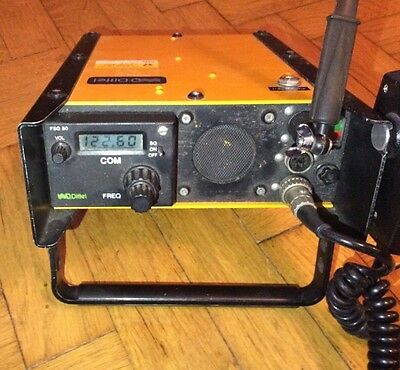 Dittel FSG 50 VHF/AM transceiver radio aerial,charger Aircraft Emergency Fsg50ps