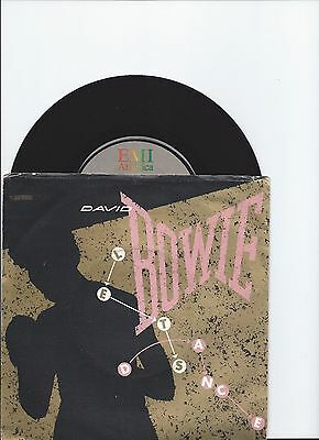 David Bowie Original Single Let's Dance From Italy