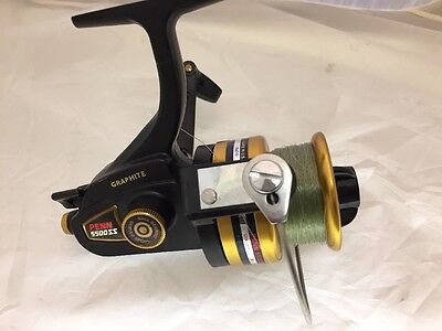 Penn 5500SS Graphite Fishing Spinning Reel Made In USA