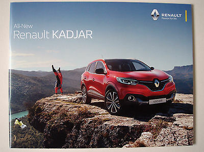 Renault . Kadjar . All-New Renault Kadjar . April 2016 . Sales Brochure