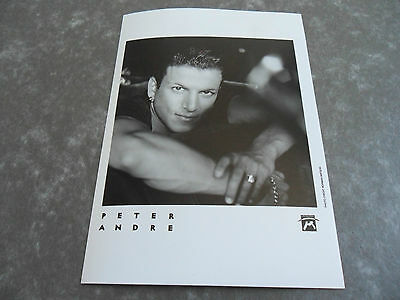 PETER ANDRE - Original Promotional / Press / Advertising Photograph