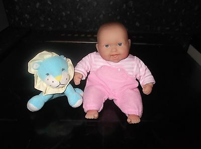 """7.5"""" Berenguer Baby With Toy Brand New"""