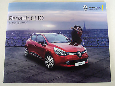 Renault . Clio . Renault Clio . April 2016 Sales Brochure