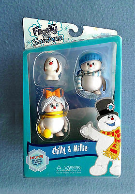 Chilly Millie And Willie Frosty The Snowman 3 Inch Figure 2012 Forever Fun