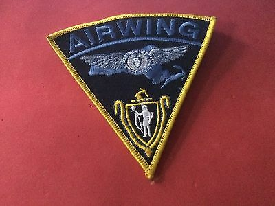 Airwing Massachusetts State Police Patch