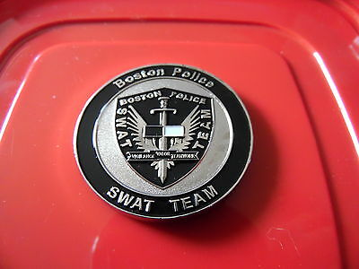 Boston Police Swat Challenge Coin