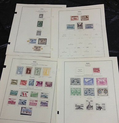 Momen: Peru Stamps # Airmail Collection £ R4181S #9268