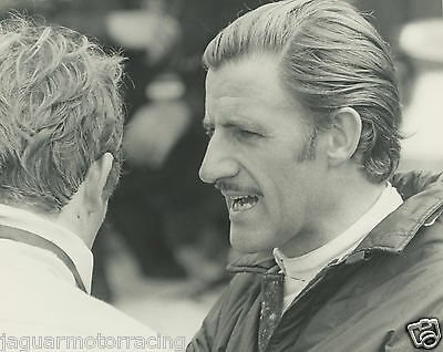 Brands Hatch Rindt And Graham Hill  Press Photograph.