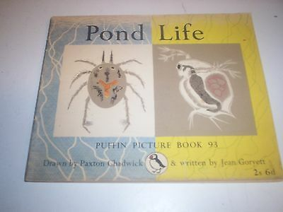 Penguin.Puffin Picture Book 93. Pond Life.