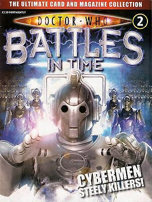 Doctor Who Battles In Time Issue 2  Cybermen  Magazine