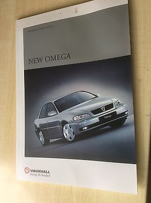 VAUXHALL OMEGA    SALES BROCHURE  2000  Ed.1  #VauOm02