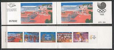 Greece Griechenland 1988 Olympic Games, SEOUL Booklet MNH