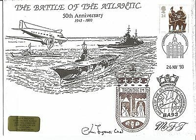 Battle of the Atlantic signed cover