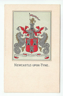 Newcastle Upon Tyne Arms Early 1900's T&G Allan Blackett Street Old Postcard