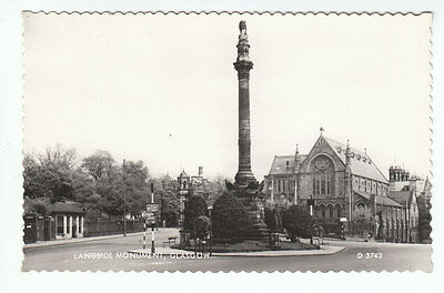 Battle Of Langside Monument Glasgow 1959 Real Photograph Valentines D3743