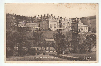 The Hydropathic Peebles Photo Taken 1936 Valentines A3919 Card Published 1950