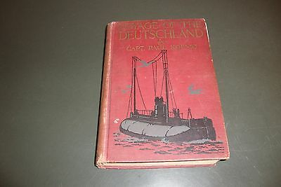 Voyage Of The Deutschland Hardcover Book Dated 1916 By Koenig