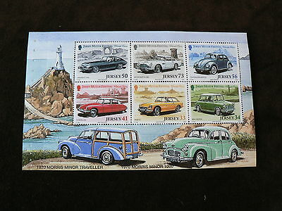 2005 Jersey Festivals (2nd Issue), Classic Cars Booklet Pane, Morris Minor, MH