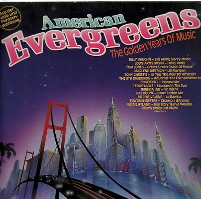 Louis Armstrong, Tom Jones and others American Evergreens MCA Vinyl LP