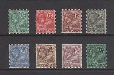 Antigua GV 1921 Mint MH Stamps x 8