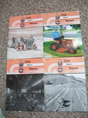 2010 Case Tractors J.I. Old Abe's News 4 Issues scaled drawing  CENTERFOLD