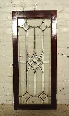 Vintage Antique Stained Glass Window Panel (2016)NS