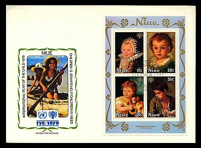 1979 Niue - International Year Of The Child - Fdc - Cover - J54