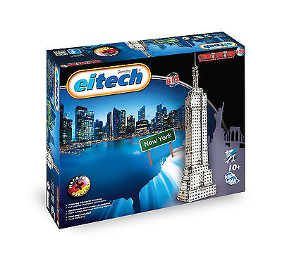 Eitech - Construction, Empire State Building, Metallbaukasten, Neu, Ovp, c00470