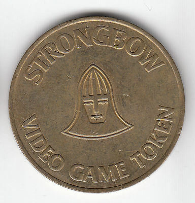 Gb Strongbow Brass Token C1980    207J          By Coinmountain