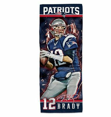 New England Patriots Brand New Official Nfl Coloured  Tom Brady Towel