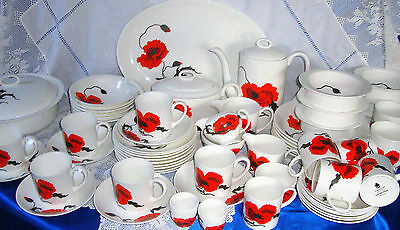 Susie Cooper CORN POPPY CORNPOPPY Dinner Service Individually Sold