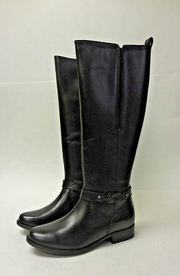 M6008 New  Women's Clarks Plaza Studio Black Waterproof Boot 8 M