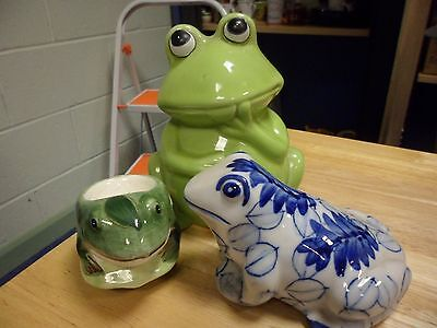 Collection Of Frog Items