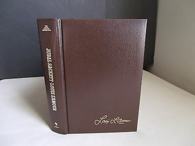 Louis L'Amour Hardcover Collection Leatherette Bantam Book Jubal Sackett Vintage