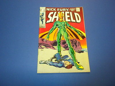 NICK FURY - AGENT OF SHIELD #8 Marvel Comics 1969