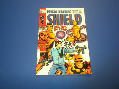 NICK FURY - AGENT OF SHIELD #12 Marvel Comics 1969