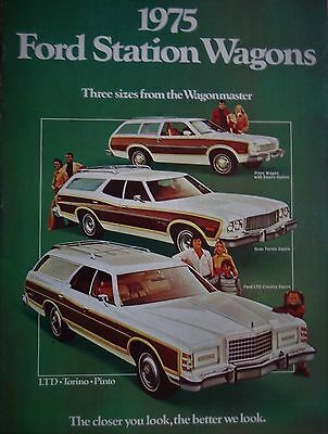 1975 Ford Station Wagon Sales Brochure